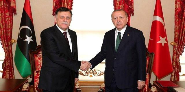Libya Başbakanı Serrac'ı istifadan Cumhurbaşkanı Erdoğan vazgeçirdi