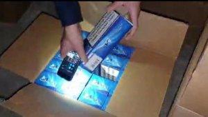 Okul çevresinde kaçak sigara satışı yapan 3 şüpheli gözaltına alındı