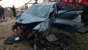 Otomobil şarampole yuvarlandı; 3 ağır yaralı