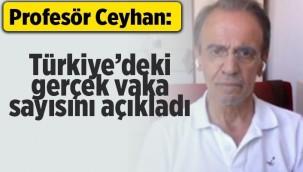 Profesör Mehmet Ceyhan Türkiye'deki gerçek vaka sayısını açıkladı!