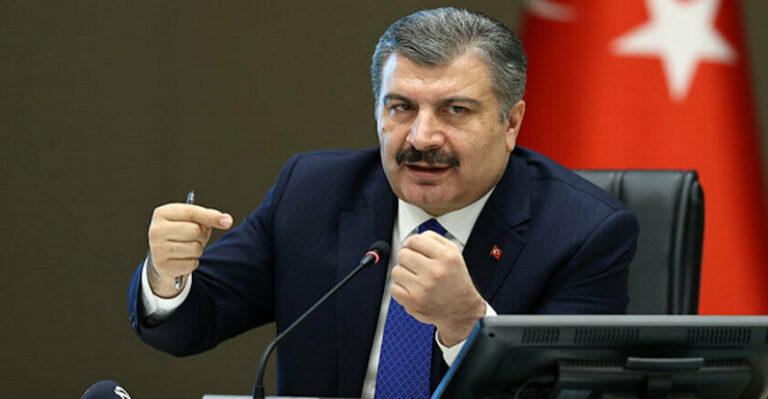 Sağlık Bakanı Fahrettin Koca üç ilin adını verdi