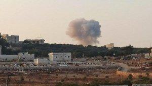 Savaş uçakları, İdlib kırsalını bombaladı