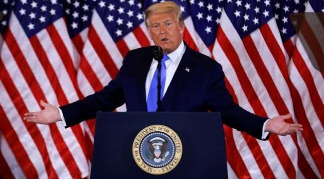 Trump: Milletimiz için savaşmaktan asla vazgeçmeyeceğim