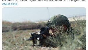 MSB: 2 PKKYPG'li terörist etkisiz hale getirildi
