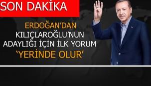 Son dakika: Erdoğan'dan Kılıçdaroğlu'nun adaylık açıklamasına ilk yorum
