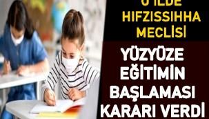 Zonguldak İl Umumi Hıfzıssıhha Meclisi, toplanarak yeni kararlar aldı