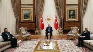 Cumhurbaşkanı Erdoğan, AfganistanUlaştırma Bakanı Zeki'yi kabul etti
