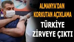 Aşılamaya geç başlayan ama hızlı yol alan Türkiye zirveye çıktı! Almanya'dan korkutan açıklama