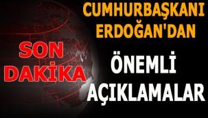 Cumhurbaşkanı Erdoğan'dan önemli açıklamalar. Kızılcahamam-Çerkeş Tüneli açılıyor!