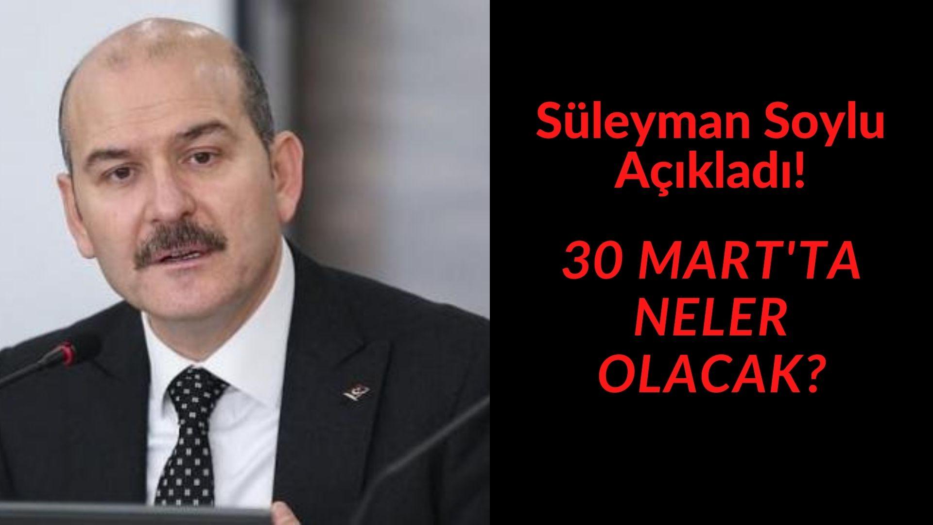 30 MART'TA BAŞLIYOR....