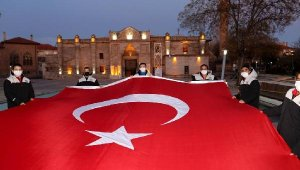 Aksaray'da İstiklal Marşı'nın kabulünün 100'üncü yıl dönümü coşku ile kutlandı