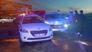 Adıyaman'da iki otomobil çarpıştı: 1 ölü, 2 yaralı