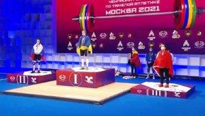 Avrupa Halter Şampiyonası'nda 3 madalya