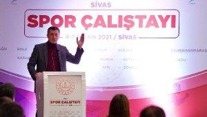 Bakan Selçuk Sivas'ta Milli Eğitim Müdürleriyle buluştu