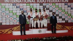 JudoGrand Slam'de Albayrak'tan altın, Kandemir'den gümüş madalya
