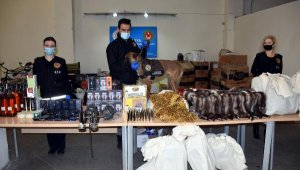 Kapıkule'de 24 milyon liralık kaçak eşya ele geçirildi
