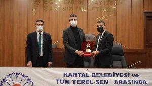 Kartal Belediyesi ile Tüm Yerel-Sen Sendikası arasında toplu iş sözleşmesi imzalandı