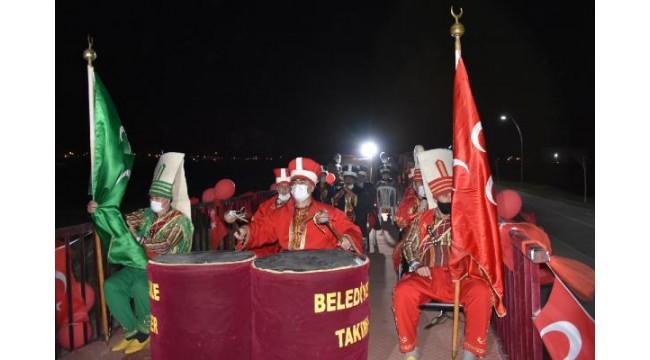 Kırıkkale'de TIR dorsesi üzerinde '23 Nisan' coşkusu