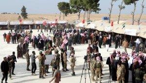 Suriyeli aşiret reisleri, rejim ve terör örgütlerine karşı mücadeleyi sürdürecek