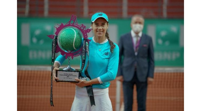 TEB BNP Paribas Tennis Championship İstanbul Şampiyonu Sorana Cirstea