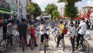 Akıllı bisikletler yeşil bir Aksaray için pedal çevirdi
