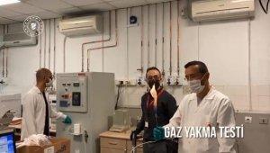 Bakan Dönmez, yeni keşfedilen gazın yakıldığı görüntüleri paylaştı