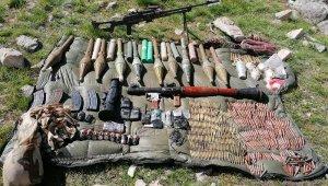 Van'da PKK'ya operasyon; çok sayıda mühimmat ele geçirildi