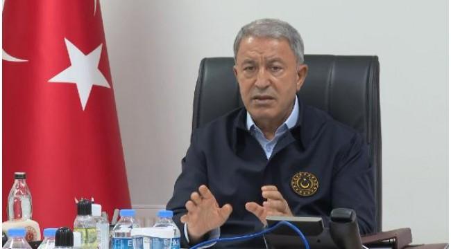 Bakan Akar: Fırat Kalkanı bölgesinde 12 terörist etkisiz hale getirildi