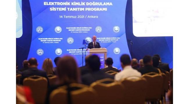 Bakan Soylu Elektronik Kimlik Doğrulama Sistemi'ni tanıttı