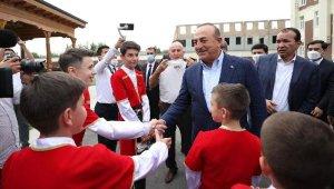 Dışişleri Bakanı Çavuşoğlu, Özbekistan'da Ahıska Türkleriyle buluştu