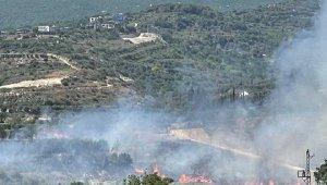 Hatay'da bahçe yangını
