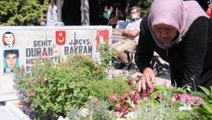 Kayseri'de şehitler törenle anıldı