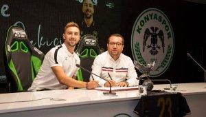 Konyaspor, Endri Çekiçi'yi kadrosuna kattığını açıkladı