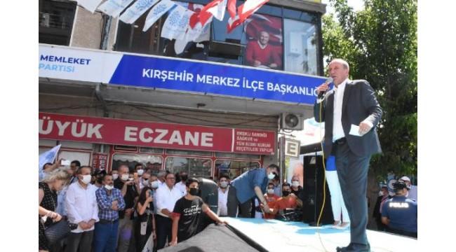 Muharrem İnce, Kırşehir'de il binasının açılışını yaptı