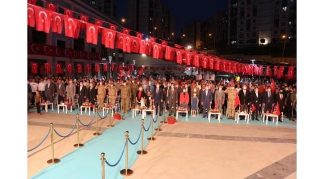 Şırnak'ta 15 Temmuz Demokrasi ve Milli Birlik Günü buluşması