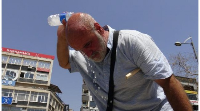 Aydın'da son yılların en sıcak günü yaşandı