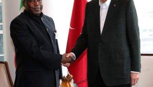 Cumhurbaşkanı Erdoğan, Burundi Devlet Başkanı Ndayishimiye ile görüştü