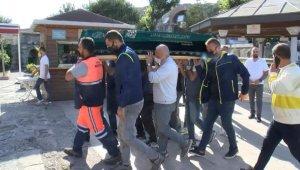 D-100 Karayolu'ndaki motosiklet kazasında ölen iki arkadaş son yolculuklarına uğurlandı