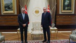 Erdoğan, BM Mülteciler Yüksek Komiseri Grandi'yi kabul etti