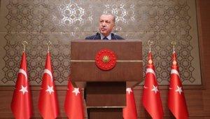 Erdoğan: Büyük ve güçlü Türkiye'nin inşası yolundaki en önemli durağımız 2023'ün eşiğindeyiz