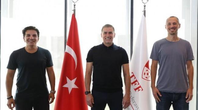 Koçak ve Lichte, A Milli Futbol Takımı teknik ekibine katıldı