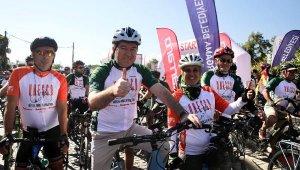 UNESCO Yolu'nda 7'nci Bisiklet Turu Başladı
