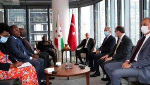 YENİDEN: Cumhurbaşkanı Erdoğan, Burundi Devlet Başkanı Ndayishimiye ile görüştü