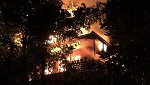 Zonguldak'ta aynı mahallede bir haftada ikinci yangın; 1 gözaltı