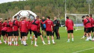 A Milli Futbol Takımı, Norveç karşılaşmasının hazırlıklarına devam etti