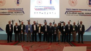 Cimnastik Federasyonu Başkanı Suat Çelen güven tazeledi